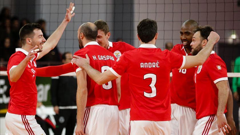 Voleibol. Benfica vence pela primeira vez na história na fase de grupos da Liga dos Campeões
