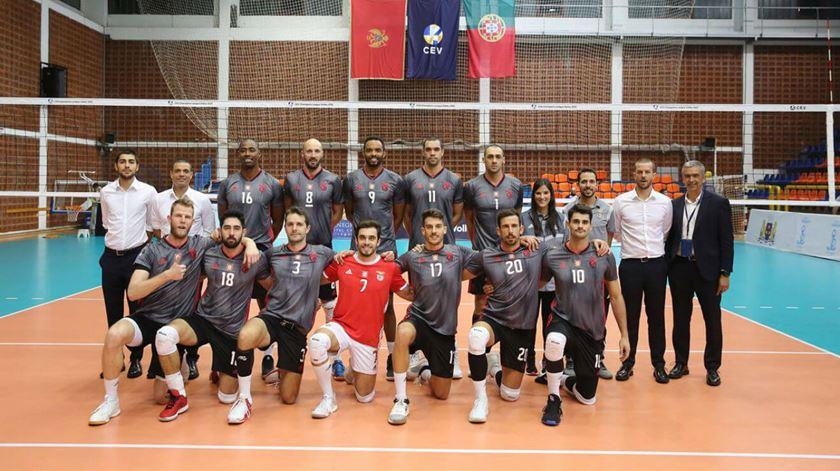 Voleibol. Benfica em vantagem na pré-eliminatória da Champions