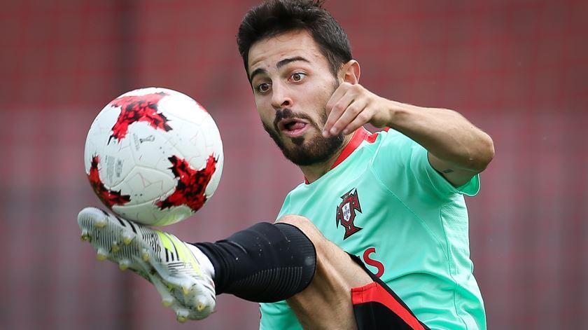 Bernardo espera corresponder às expetativas. Foto: Mário Cruz/Lusa