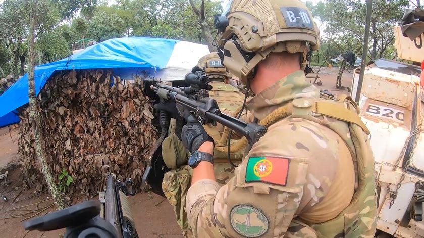 Forças portuguesas sofrem emboscada na República Centro-Africana