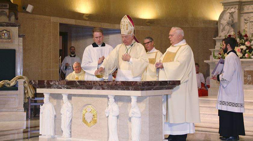 O bispo Michael J. Bransfield está no centro de mais uma polémica sexual e financeira na igreja americana. Foto: DR