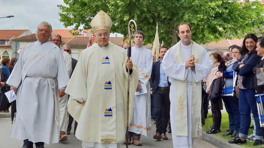 Bispo de Vila Real, D. Amândio Tomás. Foto: Olímpia Mairos/RR