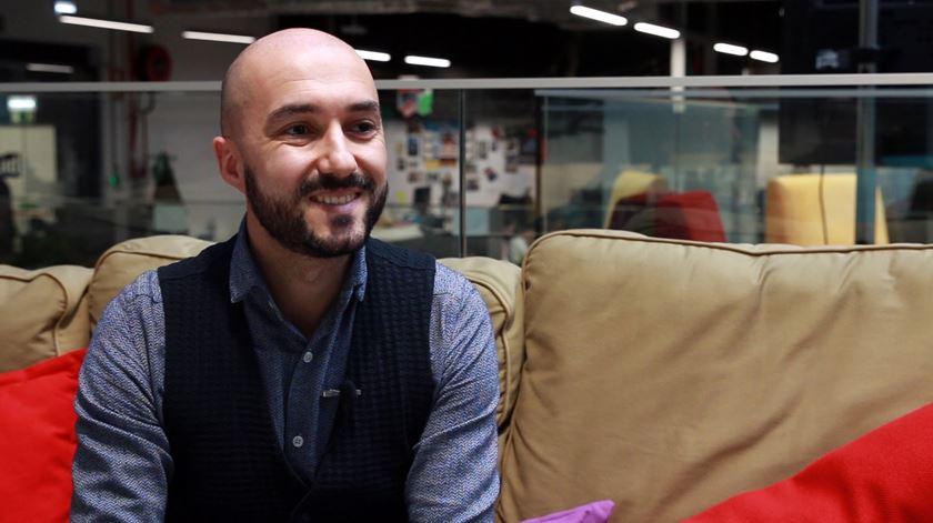 Ângelo Valente, do departamento de comunicação da Blip. Foto: Marília Freitas/RR