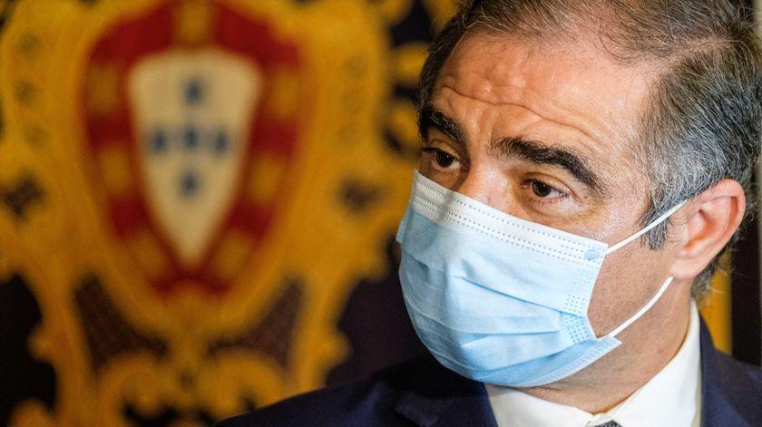 O futuro líder do governo regional dos Açores, José Manuel Bolieiro. Foto: António Araújo/Lusa