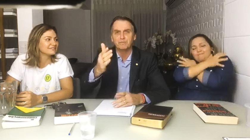 Bolsonaro presidente.