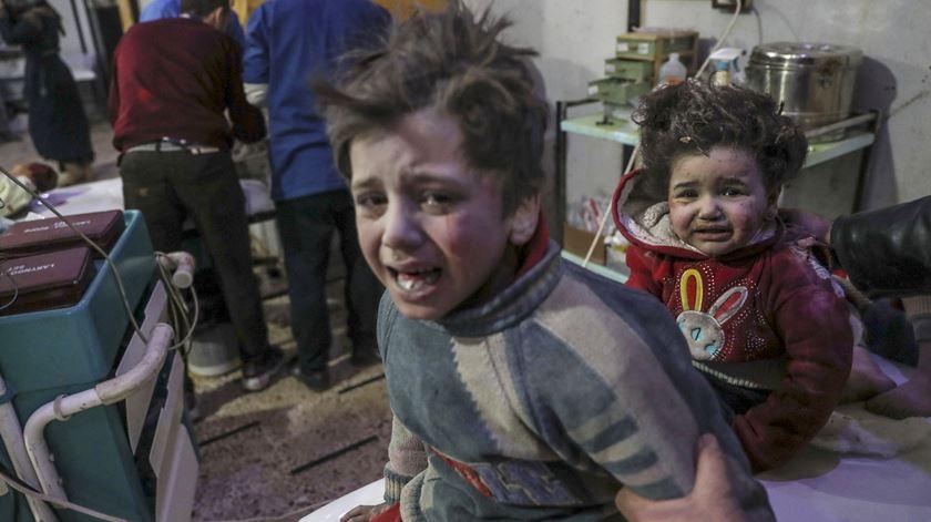 As imagens do ataque mais mortífero dos últimos três anos na Síria