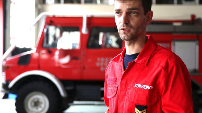 João Reis aplica experiência de mecânico no quartel