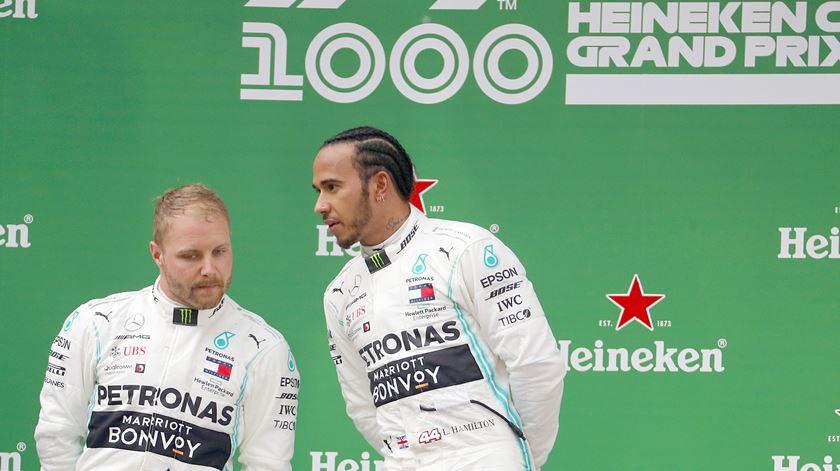 Só dá Mercedes na Fórmula 1