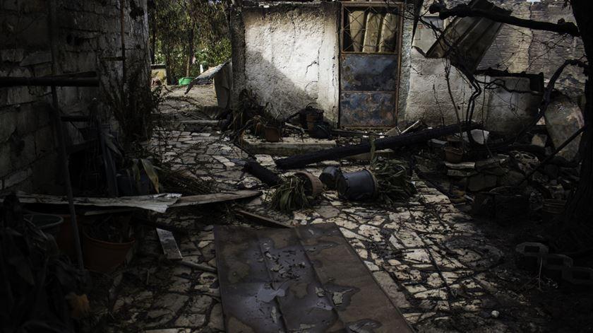 Fogos de Outubro. Apenas uma em cada três casas foi reconstruída