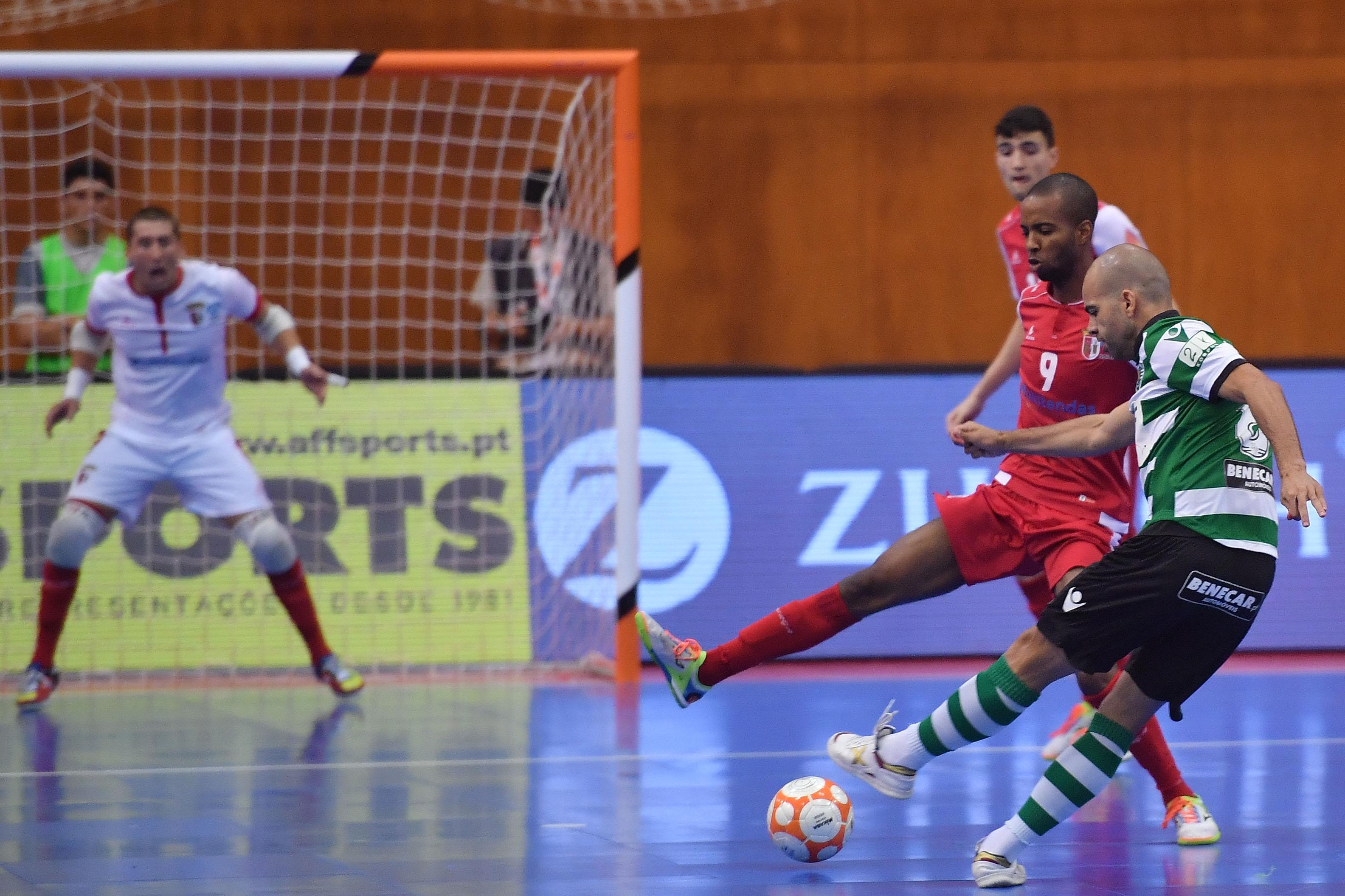 92432d8244 Braga em duelo com o Sporting. Foto  Hugo Delgado Lusa