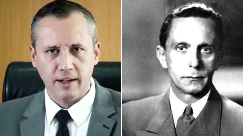 Secretário da Cultura do Brasil faz discurso com citação inspirada em Goebbels