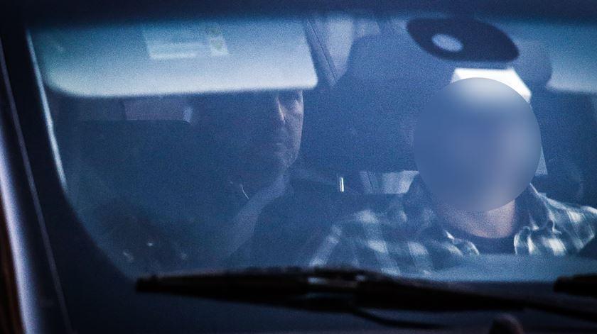 Bruno de Carvalho foi transportado do posto da GNR de Alcochete para o Tribunal do Barreiro. Foto: Mário Cruz/Lusa