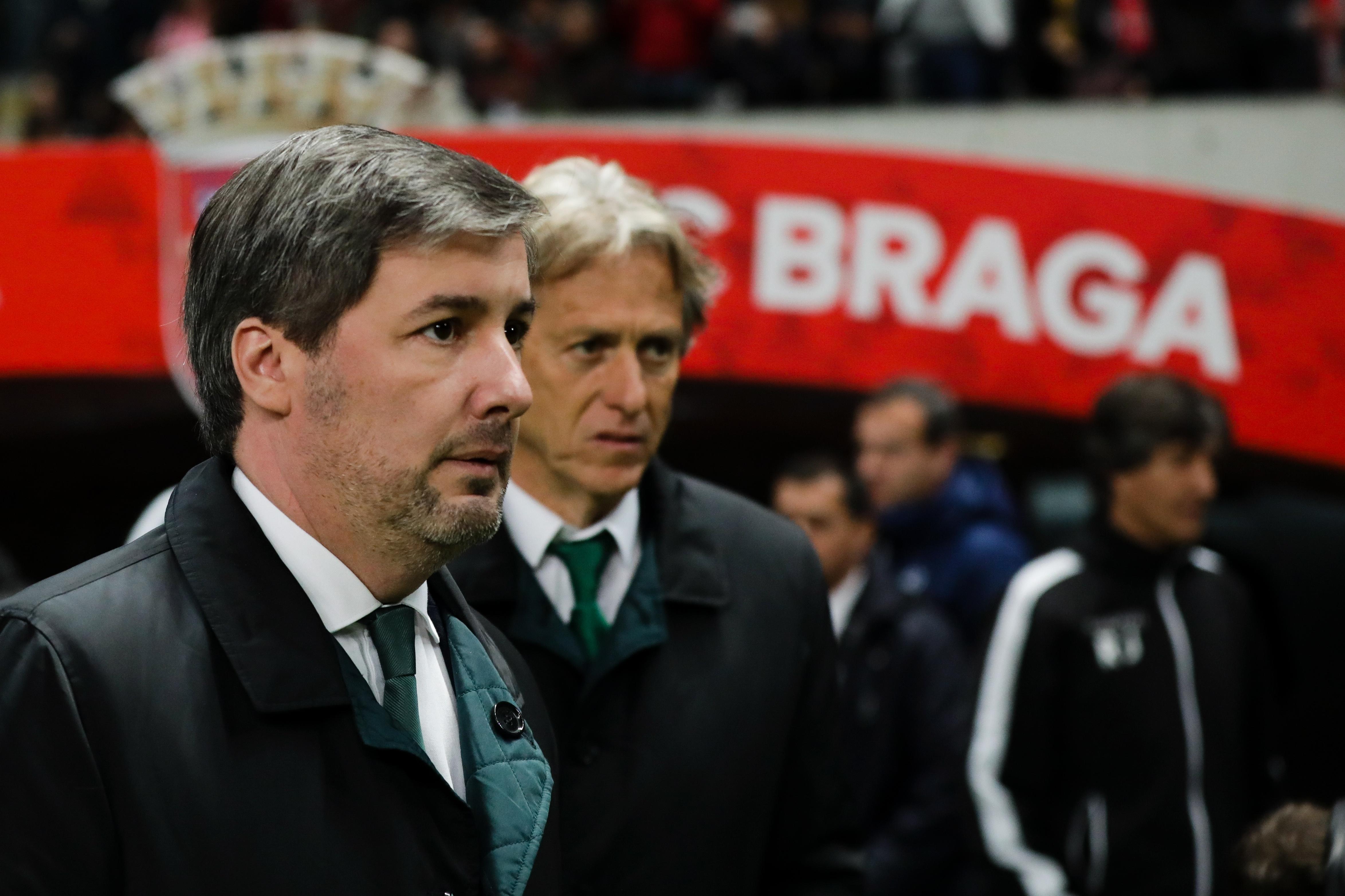 Bruno de Carvalho reunido com jogadores