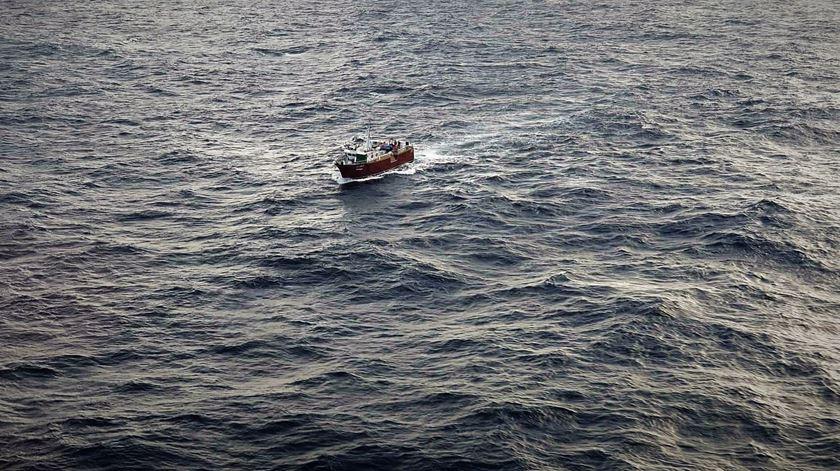 Localizado o barco de pesca que estava incontactável