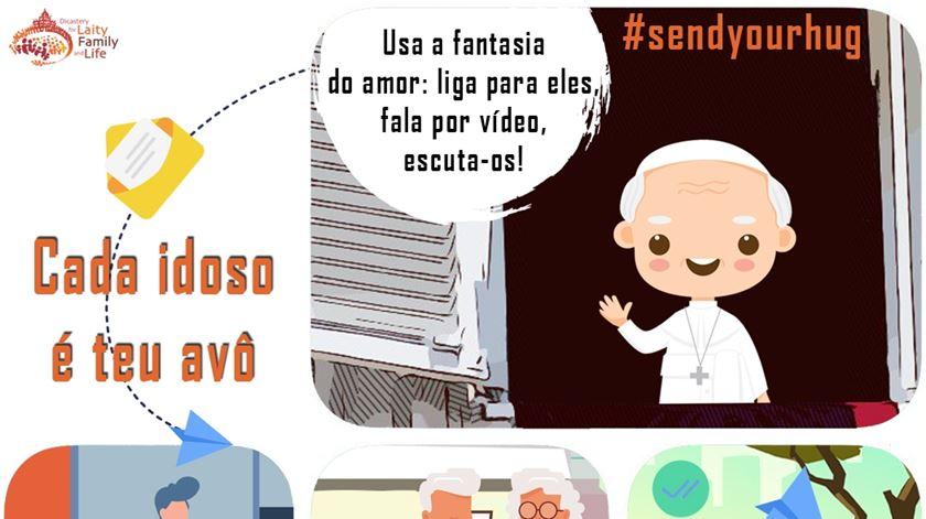 Covid-19: Vaticano lança campanha de gestos de ternura para os idosos