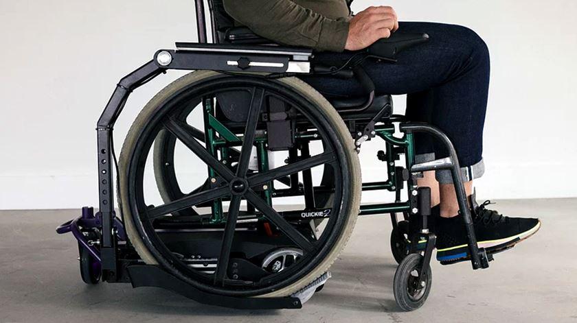 Pode uma cadeira de rodas deixar de ser um