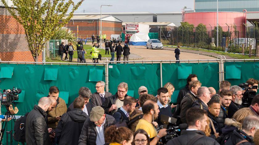Motorista declara-se culpado de homicídio de 39 migrantes em Inglaterra