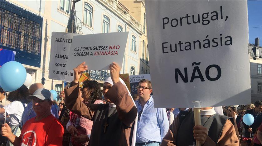 Igreja portuguesa não se vai demitir da luta contra a legalização da eutanásia. Foto: Liliana Monteiro/RR