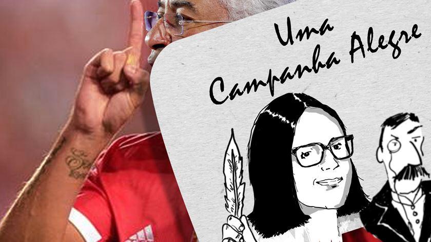 Uma Campanha Alegre: O Capitão António Costa