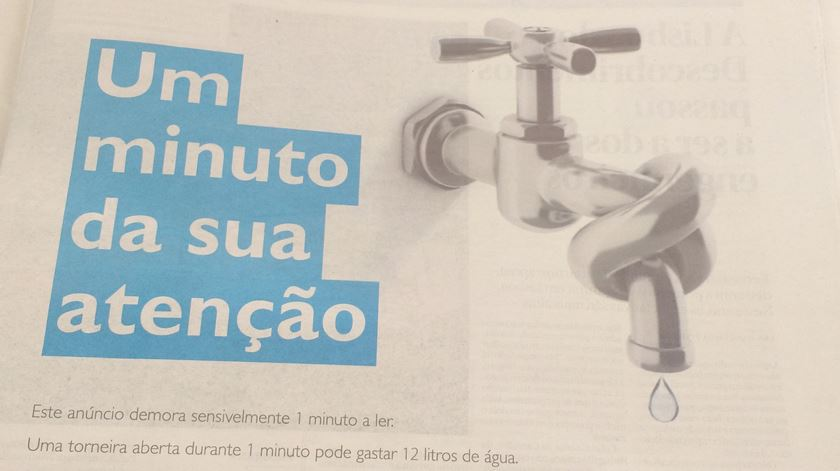 Poupar água. Dicas para ajudar o país e engordar a carteira