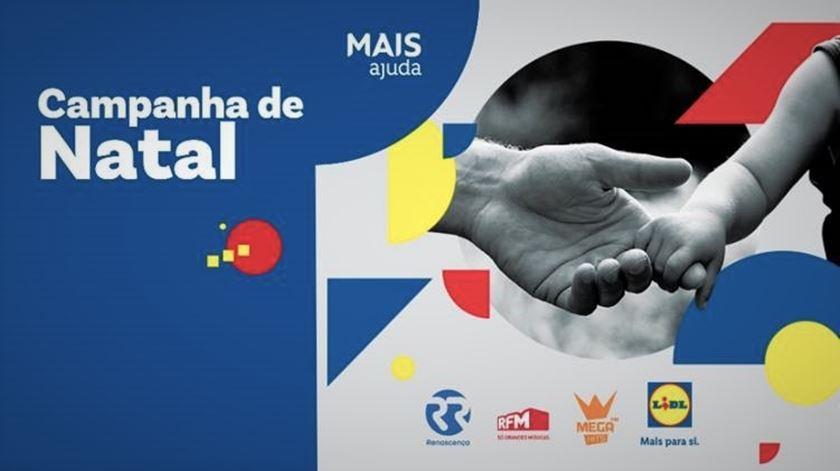 """""""Mais ajuda"""". Renascença, RFM, Mega Hits e Lidl lançam campanha de Natal solidária"""