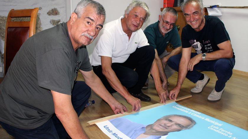 Francisco Botão, 60 anos, engenheiro civil, é líder do Unir e Mudar Manteigas
