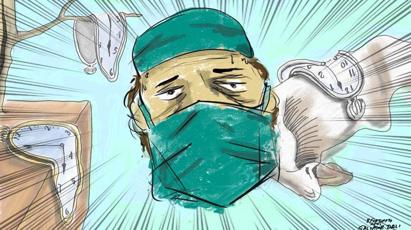 17 horas por dia, sem folgas ou férias. Médico tarefeiro no Algarve ganha 326 mil euros num ano