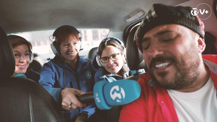 As Três da Manhã encontram o cantor taxista