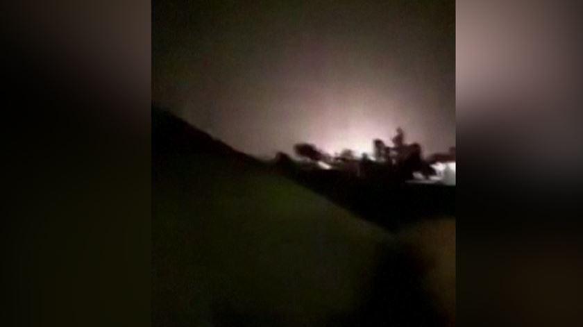 TV estatal do Irão divulga imagens do ataque a bases militares no Iraque
