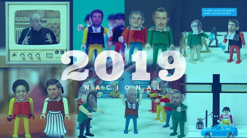 2019 no Portugal dos pequenos. A crónica do ano com bonecos