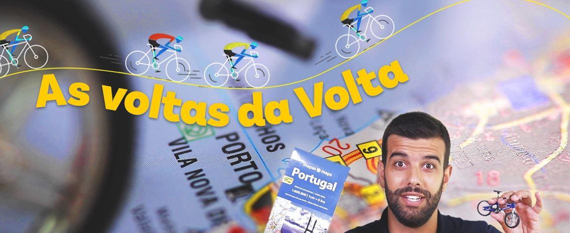 As voltas da Volta a Portugal. 1.500 quilómetros a pedalar até aos Aliados