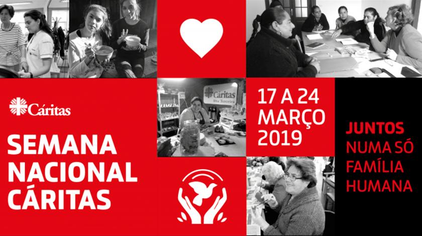Semana Nacional da Cáritas. Imagem: Cáritas.