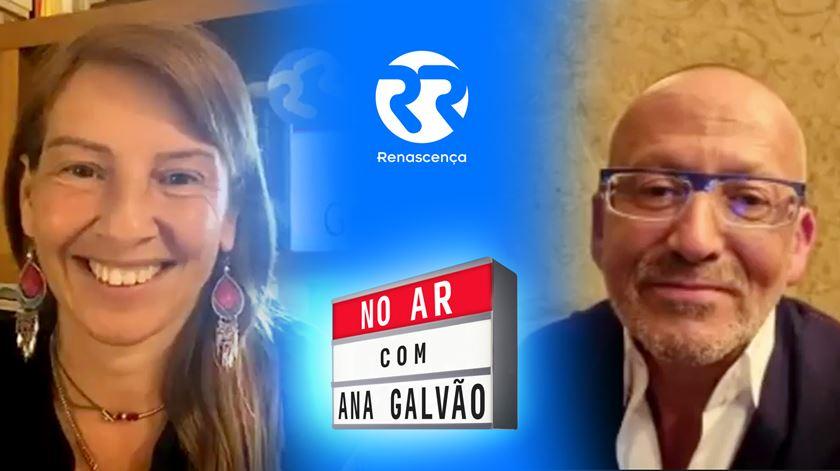 """""""Sou uma peça de museu"""". Goucha """"No Ar"""" no Ana Galvão"""