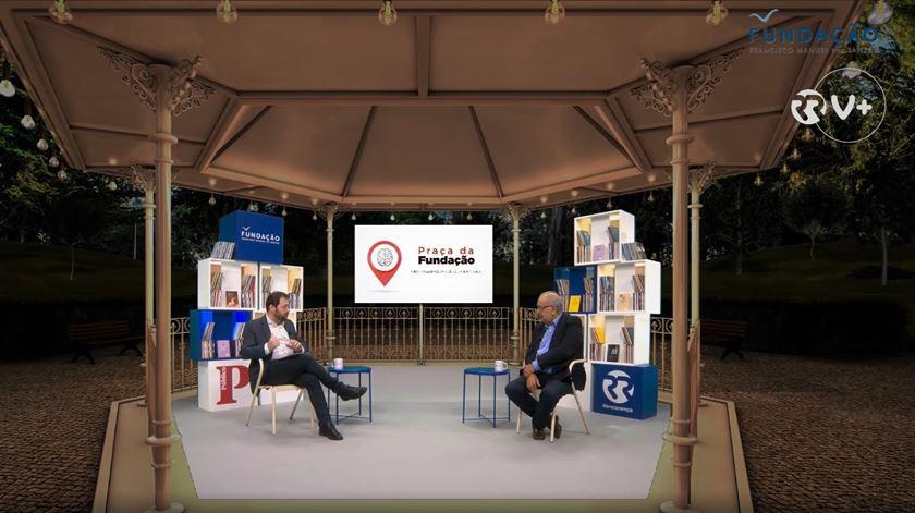 Da Capa à Contracapa Especial - Entrevista Praça da Fundação