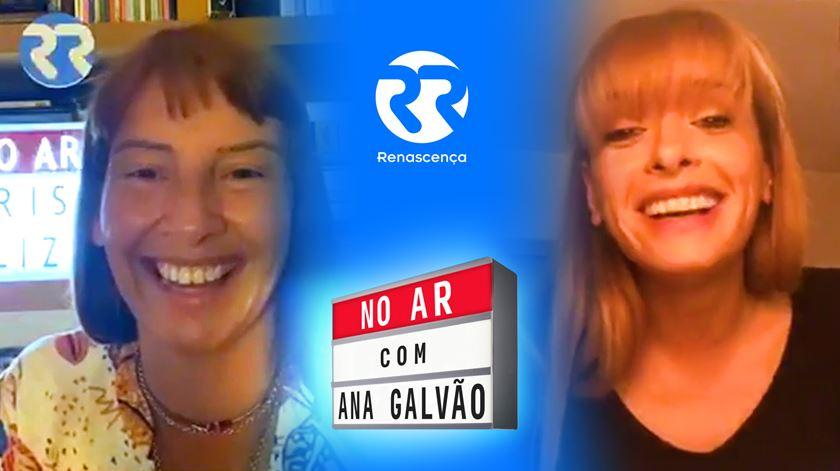 Marisa Liz No Ar com Ana Galvão