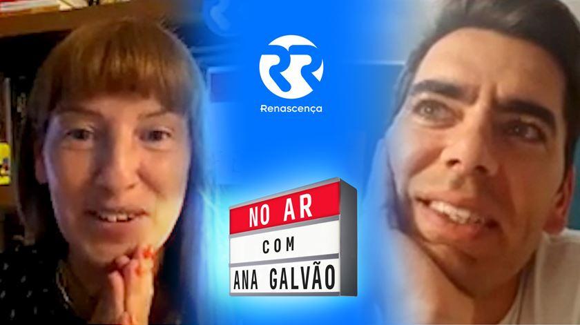 Pedro Fernandes No Ar com Ana Galvão
