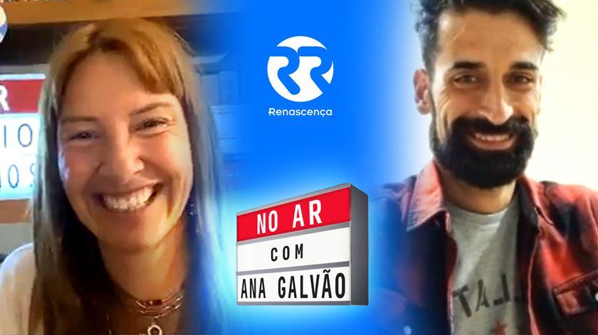 António Raminhos No Ar Com Ana Galvão