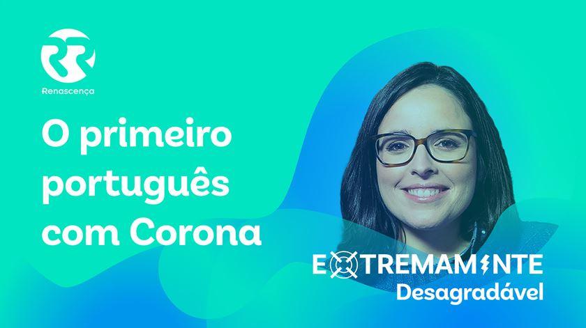 O primeiro Português com Corona - Extremamente Desagradável