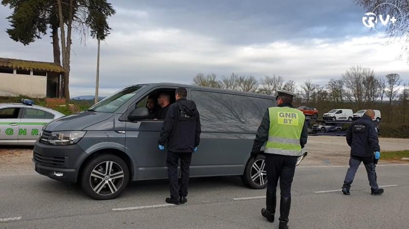 Fronteiras fechadas. GNR E SEF controlam entradas em Portugal
