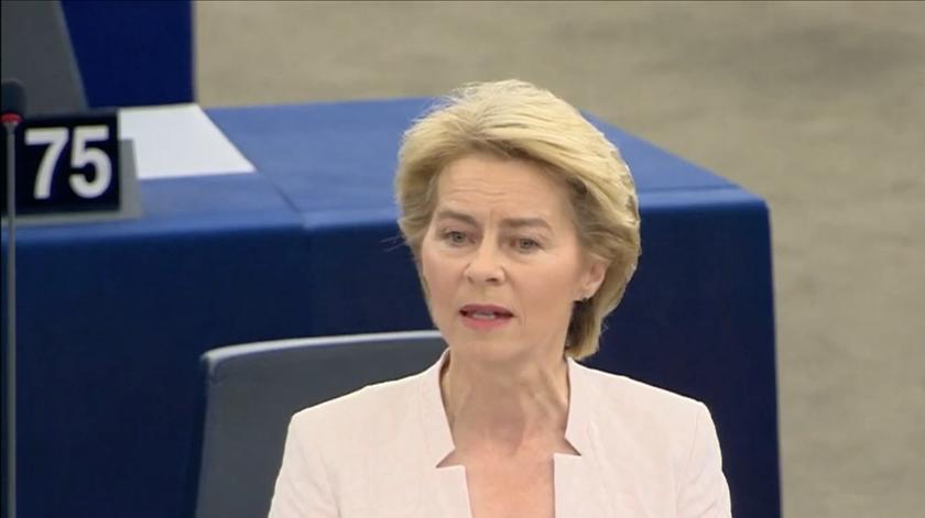 Um Green Deal, solidariedade no Mediterrâneo e prazo do Brexit alargado. O que propõe Ursula von der Leyen?
