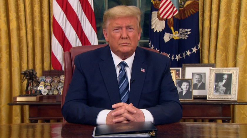 Trump anuncia suspensão de todos os voos da Europa para os EUA. Reino Unido é exceção