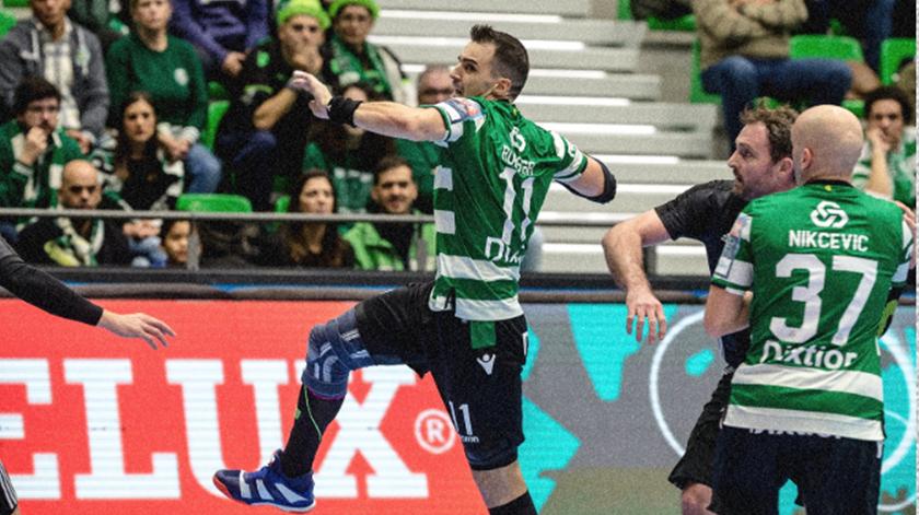 Sporting, andebol. Foto: SCP