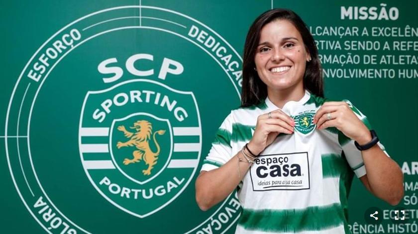 Mónica Mendes reforça Sporting