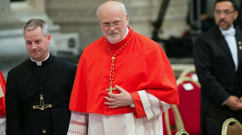 Cardeal Anders Arborelius, um convertido ao catolicismo que chegou a cardeal. Foto: Giorgio Onorati/EPA