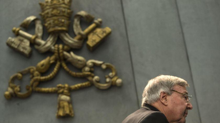 O cardeal australiano George Pell já não faz parte do conselho do Papa Francisco. Foto: Massimo Percossi/EPA