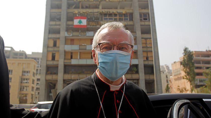 """Número dois do Vaticano de visita a Beirute. """"O Líbano não está só"""""""