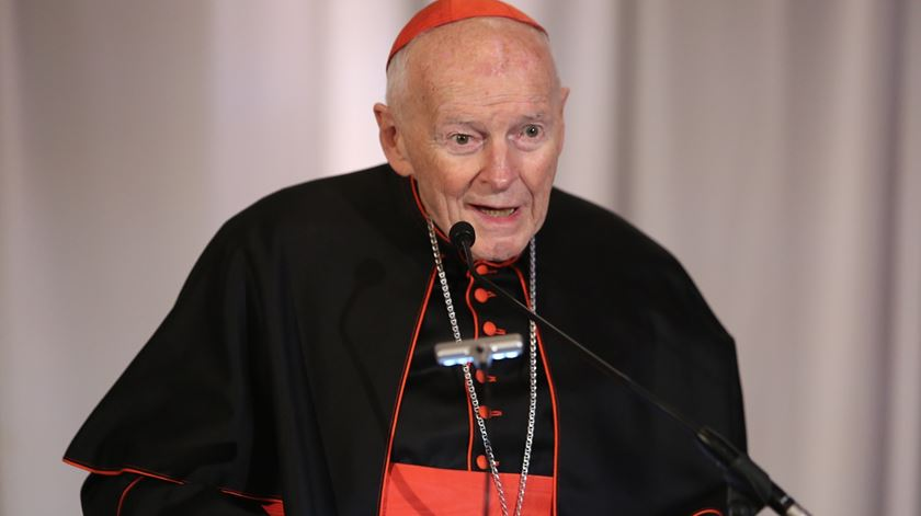 Cardeal Theodore McCarrick. Foto: DR