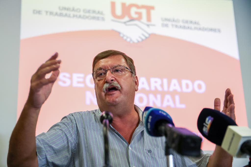 Carlos Silva, secretário-geral da UGT, falou em debate online. Foto: Paulo Novais/Lusa