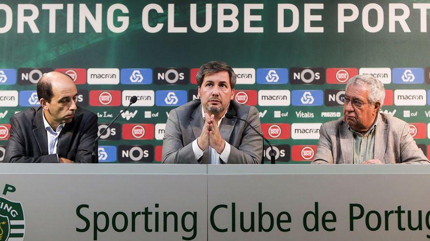 Bruno de Carvalho despede-se de funcionários do Sporting
