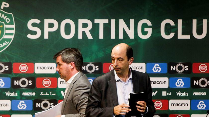Carlos Vieira entra na corrida pela presidência do Sporting. Foto: Nuno Fox/Lusa